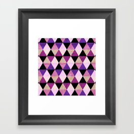 Heavy Pink Framed Art Print