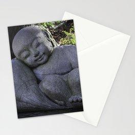 sleeping buddha Stationery Cards