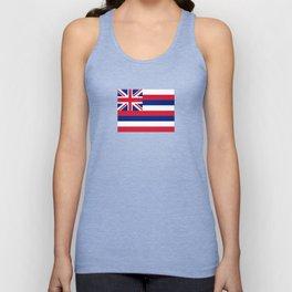 flag of hawai,america,usa,Aloha State, Paradise of the Pacific, Hawaiian,oceania,Honolulu,Maui,Oahu, Unisex Tank Top