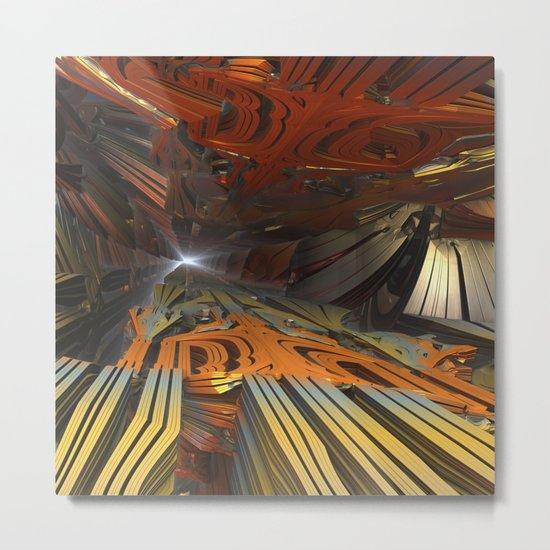 Spelunking Metal Print