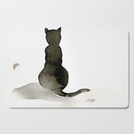 I Love Cats No. 2 by Kathy Morton Stanion Cutting Board