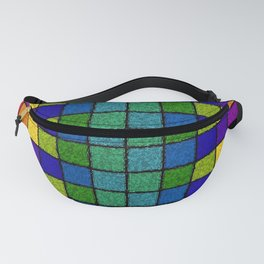 Sponged Chex Fanny Pack