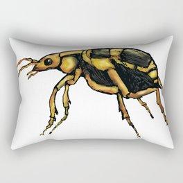 Bombardier Beetle Rectangular Pillow
