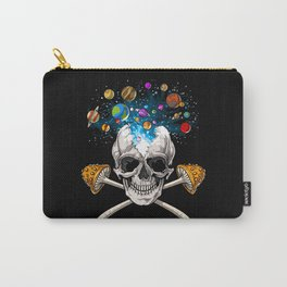 Magic Mushrooms Skull Carry-All Pouch