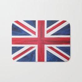 Union Jack Acrylic on Canvas Bath Mat