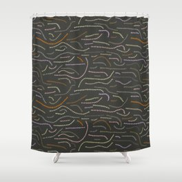worms Shower Curtain
