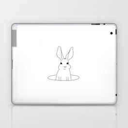rabbit in a hole Laptop & iPad Skin