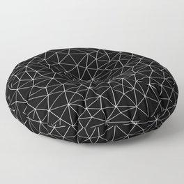 Low Pol Mesh (negative) Floor Pillow