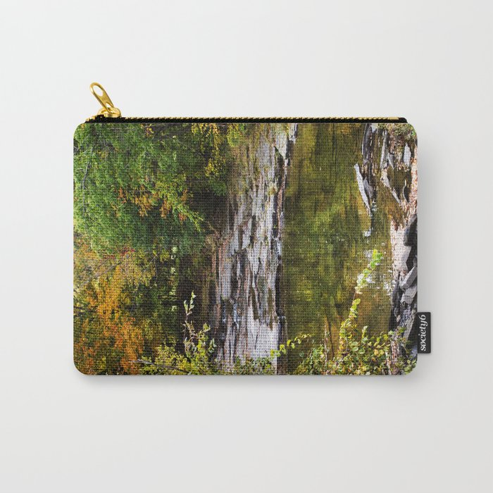 Fall Creek Landscape Carry-All Pouch