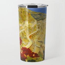 Vintage Amalfi Italy Travel Travel Mug