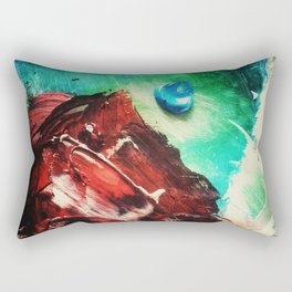 Deliberate Palette Rectangular Pillow