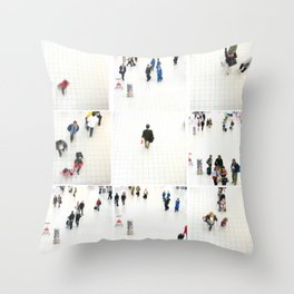 people ruch houer Throw Pillow