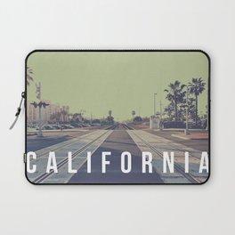 California On the Tracks Laptop Sleeve