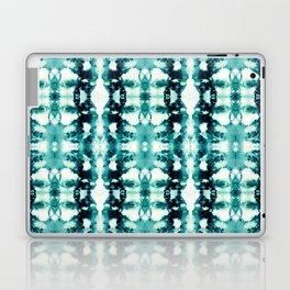 Tie-Dye Teals Laptop & iPad Skin