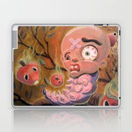 Larva Boy in the Enchanted Forest Laptop & iPad Skin