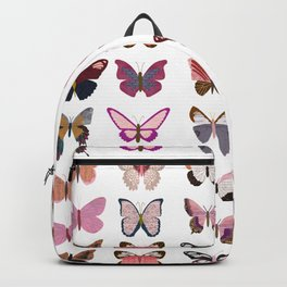 Pink Butterflies Backpack