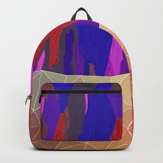 Abstract Colorful Pastel look Design Backpack