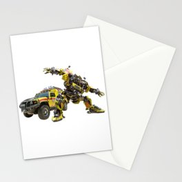 Autobot Bumblebee Transformers Vehicle And Robot Stationery Cards