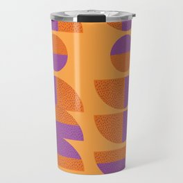 Circles Marks Travel Mug