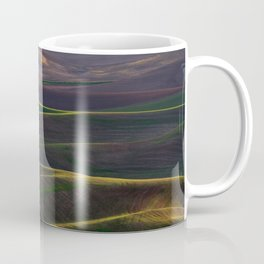 The Palouse Hills at Sunset Coffee Mug