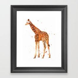 All Legs Framed Art Print