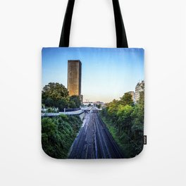 On a Rainy Day Tote Bag