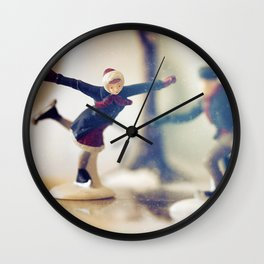 #snowday Wall Clock