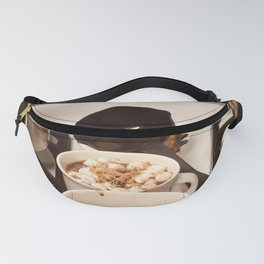time for hot cocoa Fanny Pack