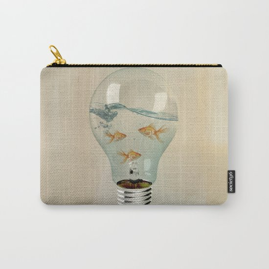 IDEAS AND GOLDFISH 03 Carry-All Pouch
