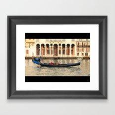 Gondoliere Framed Art Print