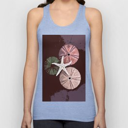 seashell 6 Unisex Tank Top