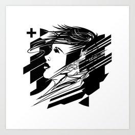 Digital Daze Art Print