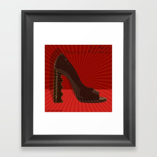 The Most Practical Footwear Framed Art Print