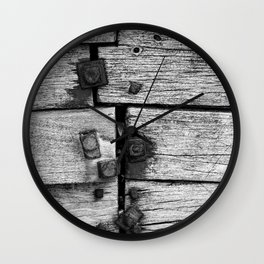 Cromer Groyne, Norfolk Wall Clock