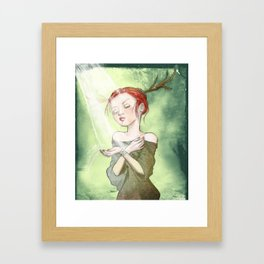 Sweet Sunlight Framed Art Print