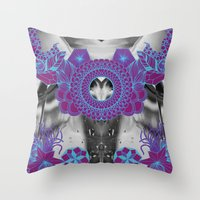 geode Throw Pillows featuring Geode 2 by michiko_design