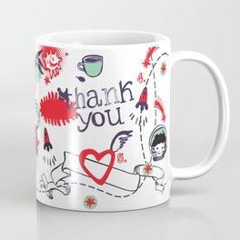 Thank you, dream team! Coffee Mug