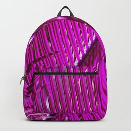Purple Palm Backpack