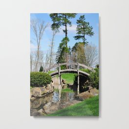 A bridge not too far... Metal Print