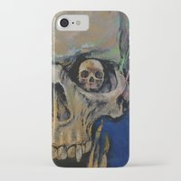 vampire diaries iPhone & iPod Cases featuring Vampire by Michael Creese