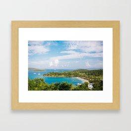 Caneel Bay, St John Framed Art Print