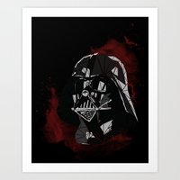 vader Art Prints featuring VADER by Josh Ln