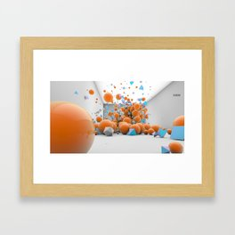 Randomise Framed Art Print