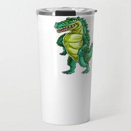 Love Crocodile Alligator Reptile Animal Travel Mug