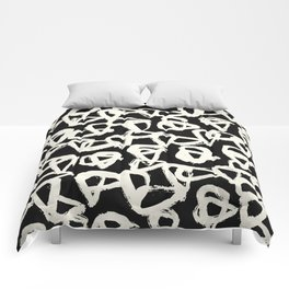 Tribal Triangle Dots Comforters