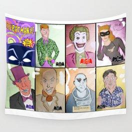 Bat Rogues Wall Tapestry