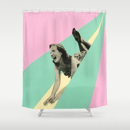 Slide Shower Curtain