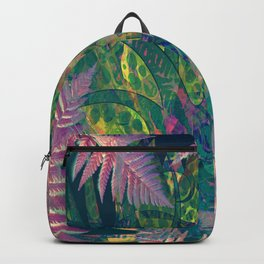Abstract Floral Fern Tree Fairyland Backpack
