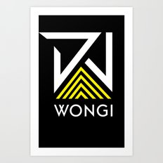 DJ Wongi 2 Art Print