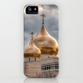 Russian Orthodox Cathedral - Paris, France iPhone Case